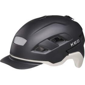 KED Berlin Helmet, black ash matt